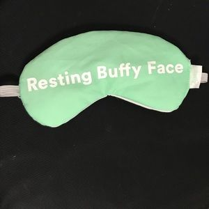 Buffy eye mask